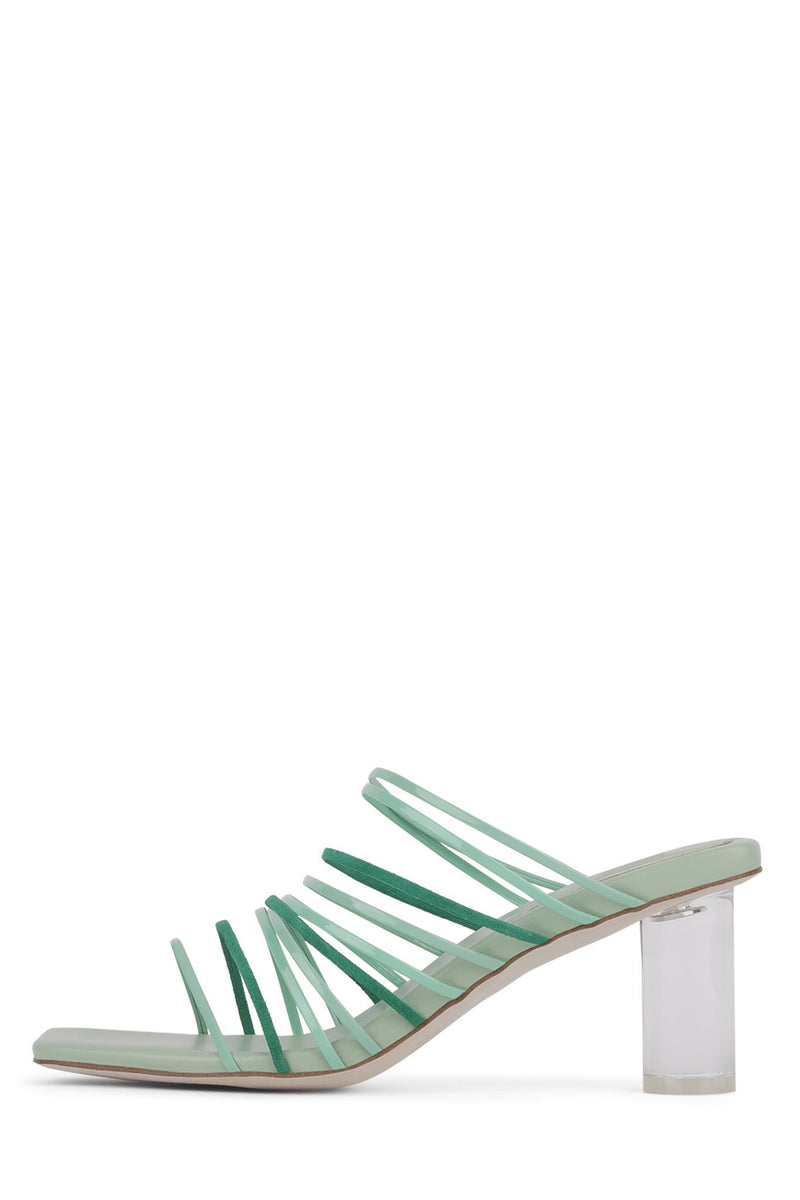 BILATERAL Heeled Sandal YYH Mint Combo 6