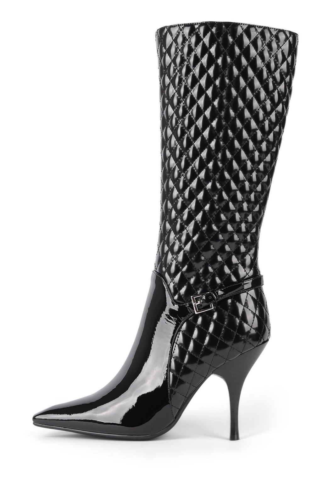 BISSEE Knee-High Boot STRATEGY Black Patent Black 6