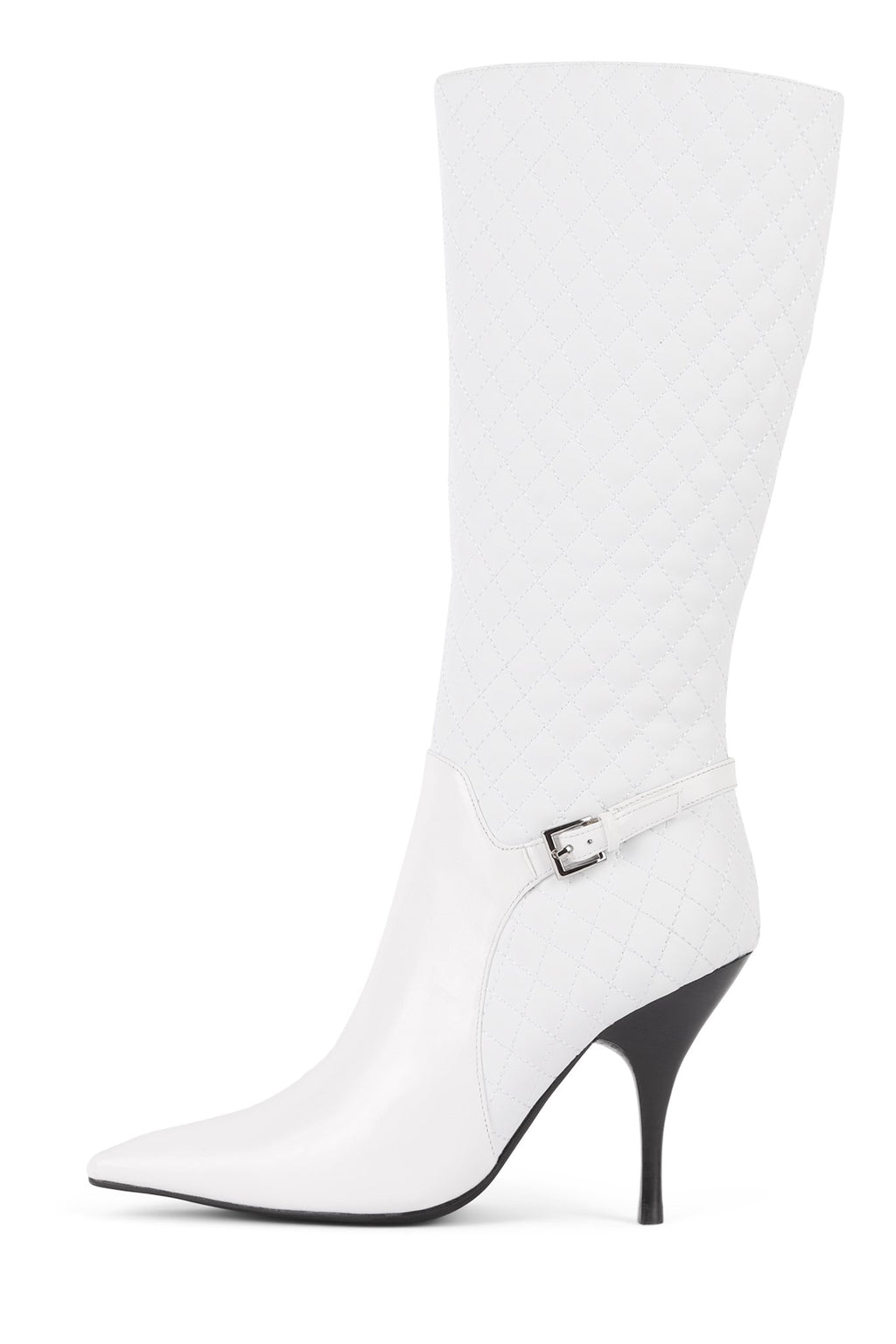 BISSEE Knee-High Boot STRATEGY White Patent White 6