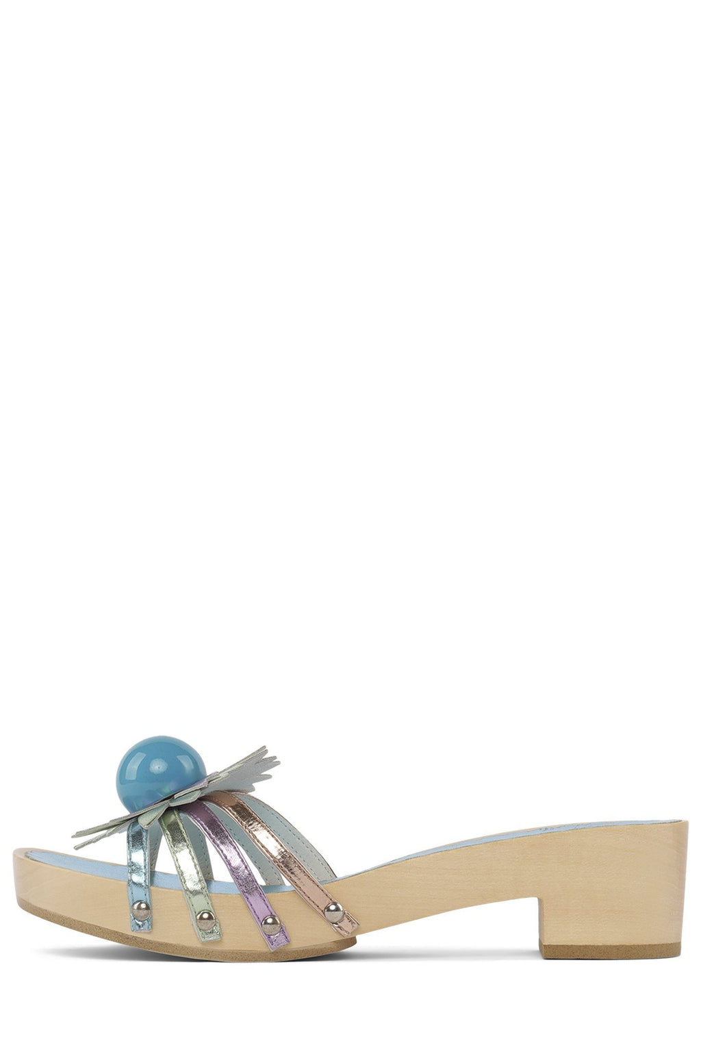 BLOSSOMS Heeled Sandal STRATEGY Pastel Metallic Multi 6