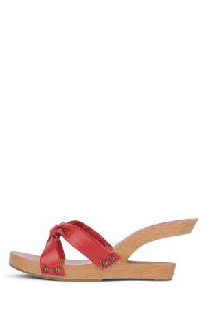 BOMBSHELL Wedge Sandal HS Red 6