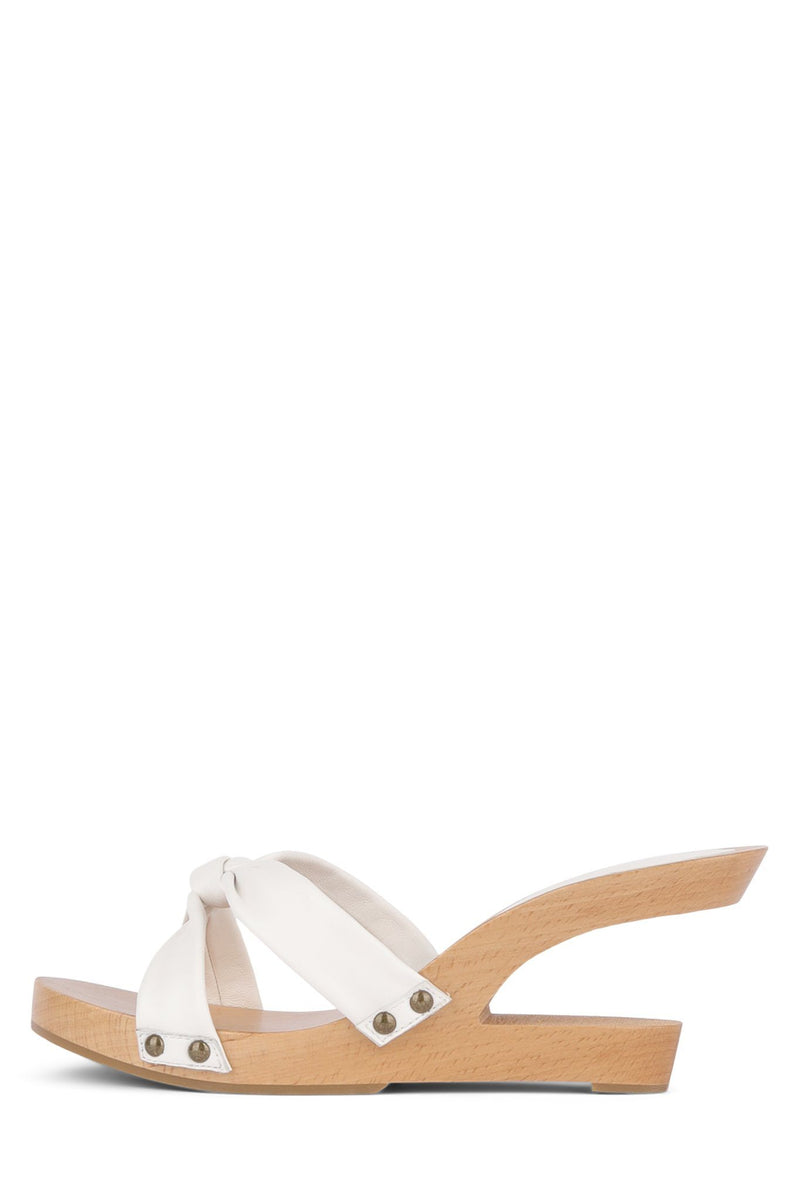 BOMBSHELL Wedge Sandal HS White 6