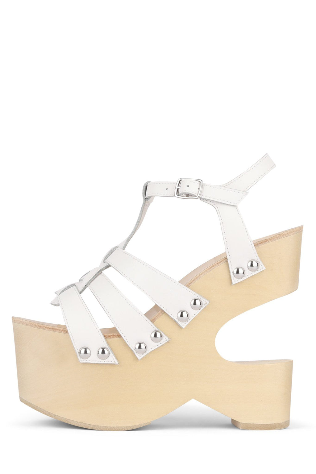 BOOGY-NITE Wedge Sandal HS White 6