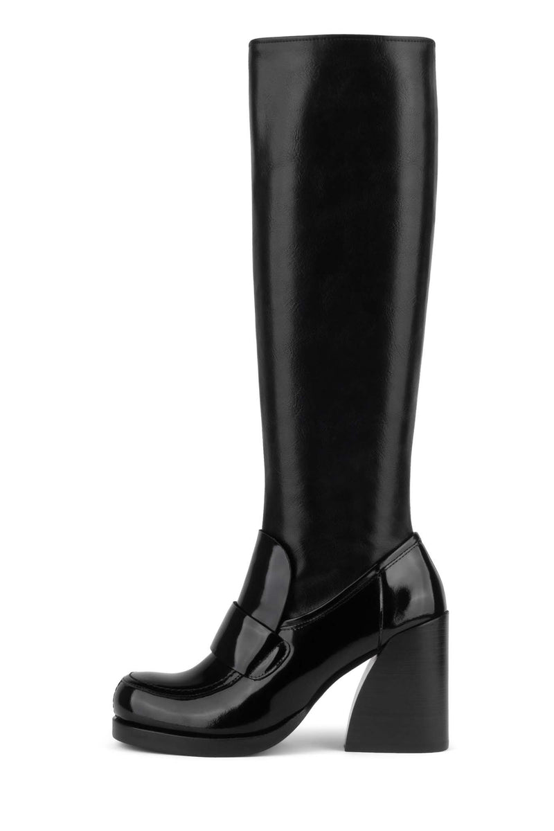 BRIALY-KH Knee-High Boot YYH Black Box Black 6
