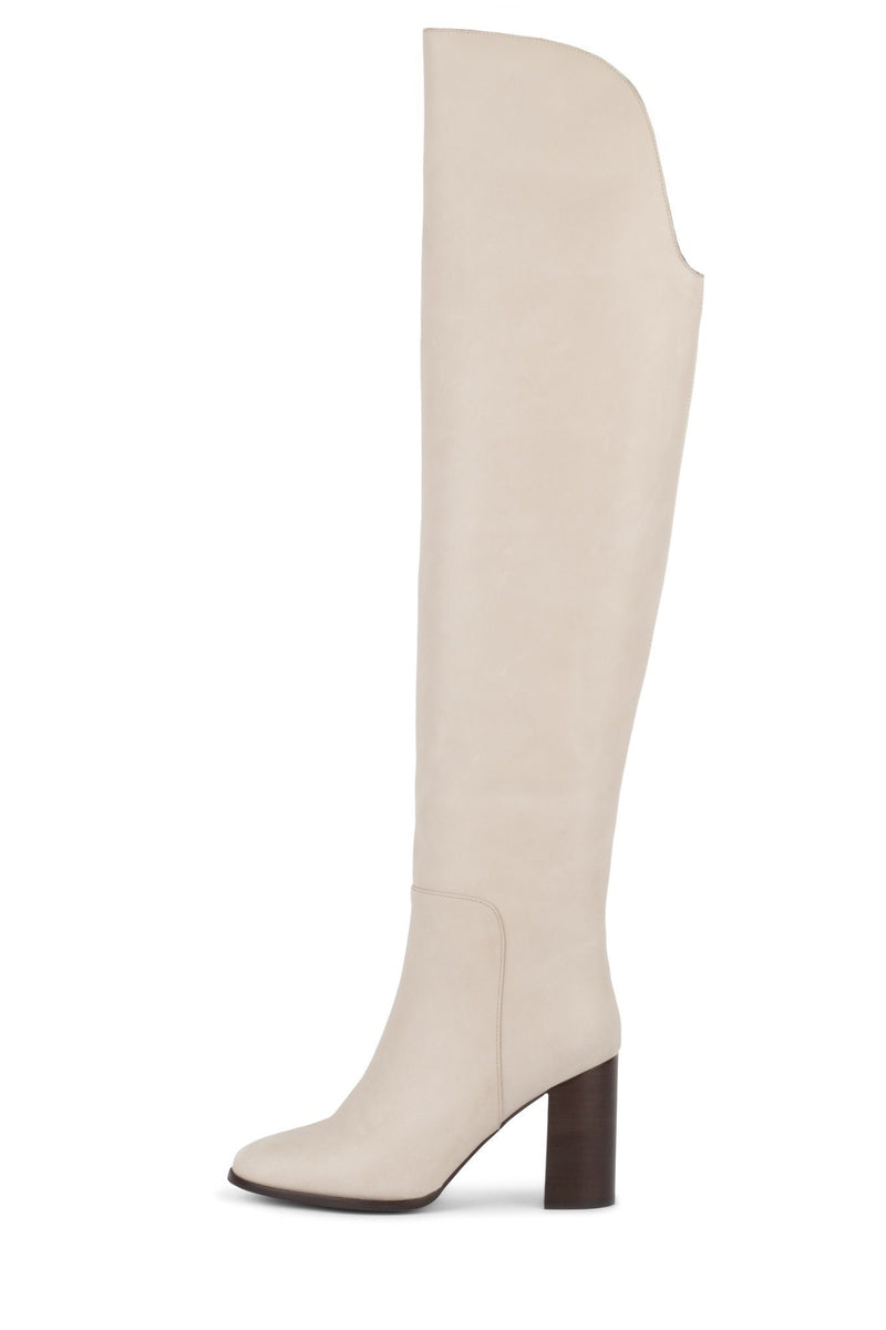 BRIDLE OTK Boot Jeffrey Campbell Light Grey 6