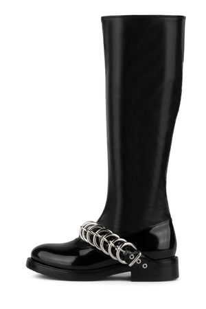 BRITAIN Knee-High Boot YYH Black Box 6