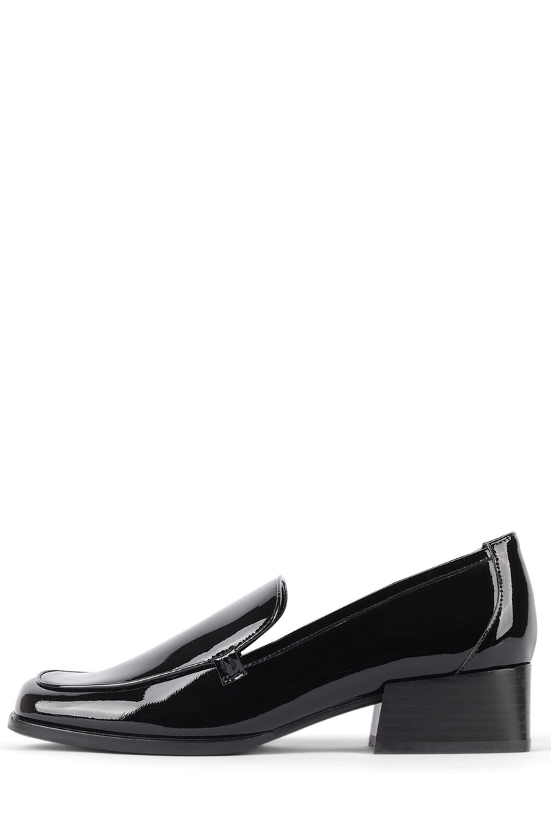 BRODRIC Loafer YYH Black Patent 6