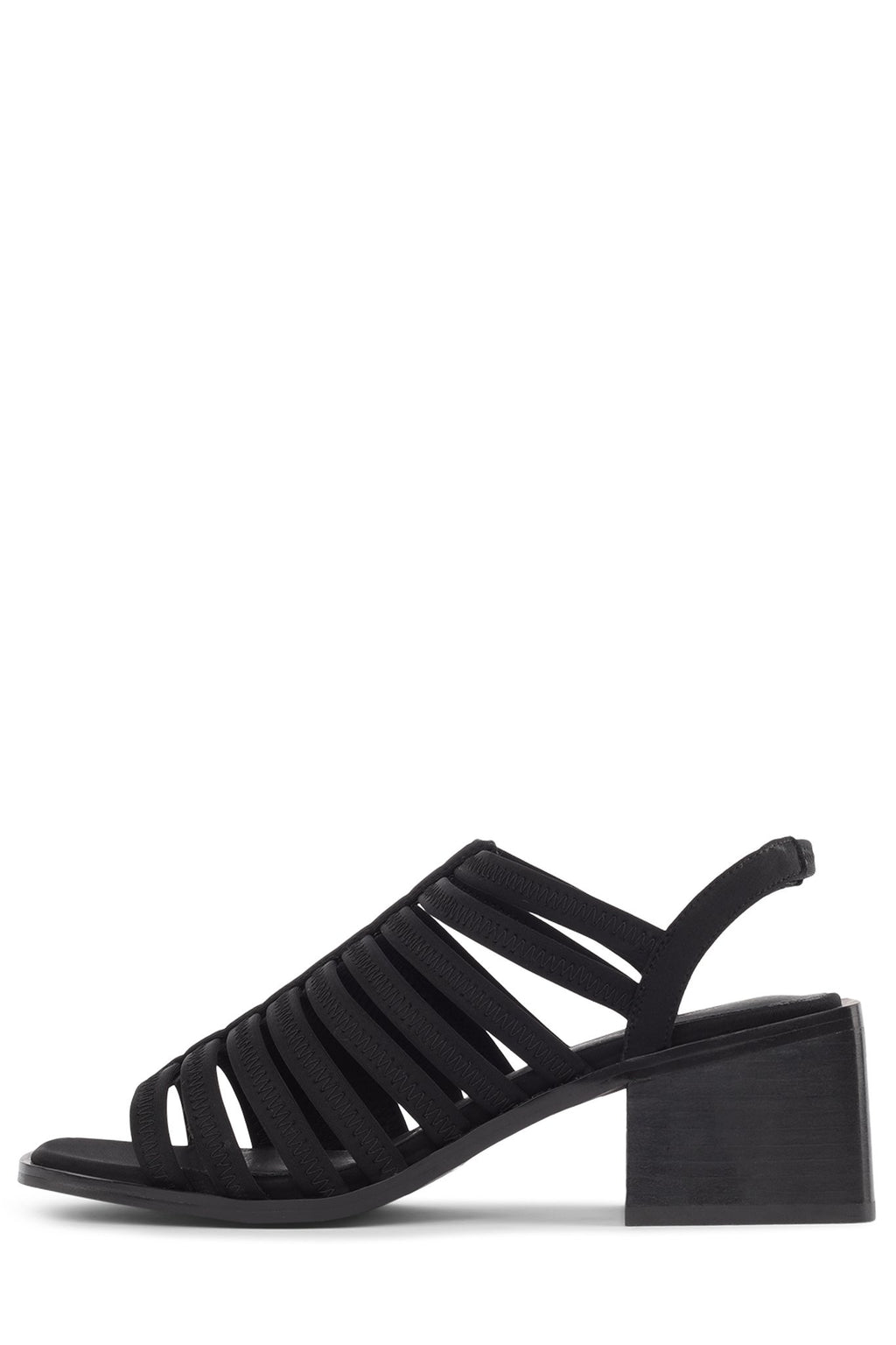 BRYLEE Heeled Sandal Jeffrey Campbell Black Fabric 6