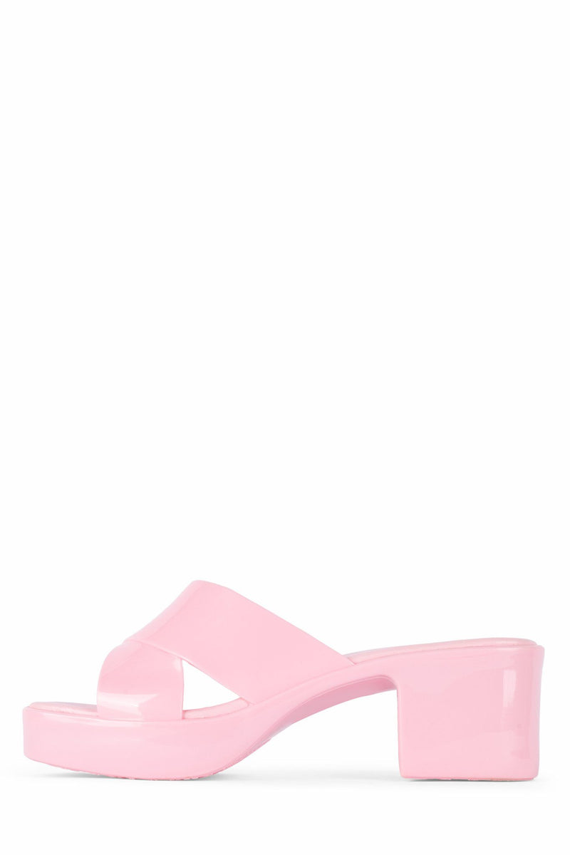 BUBBLEGUM Jeffrey Campbell Pink Shiny 6
