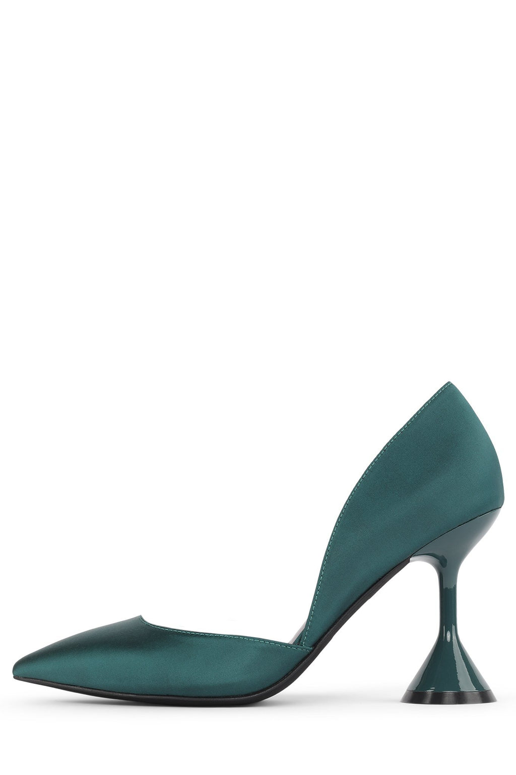 BYZANTINE Pump STRATEGY Teal Satin 6