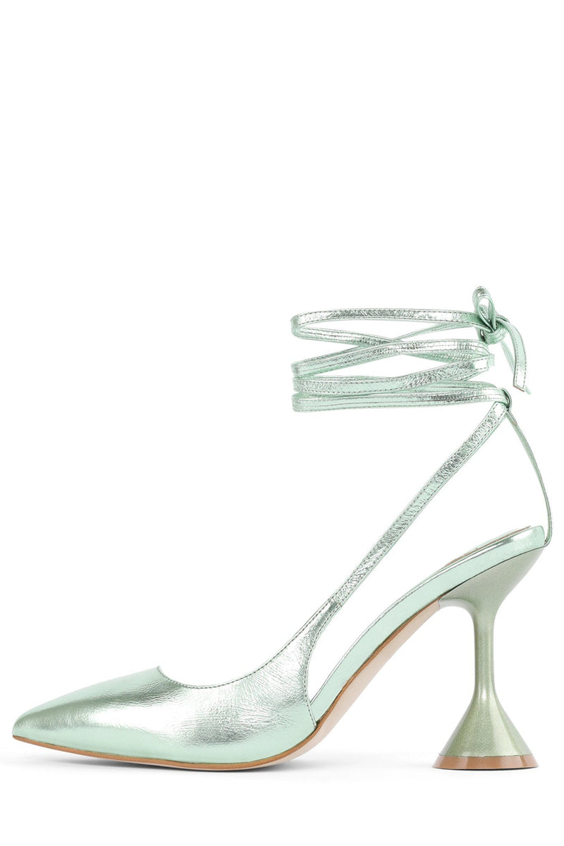 CAIA Pump STRATEGY Mint Metallic 6