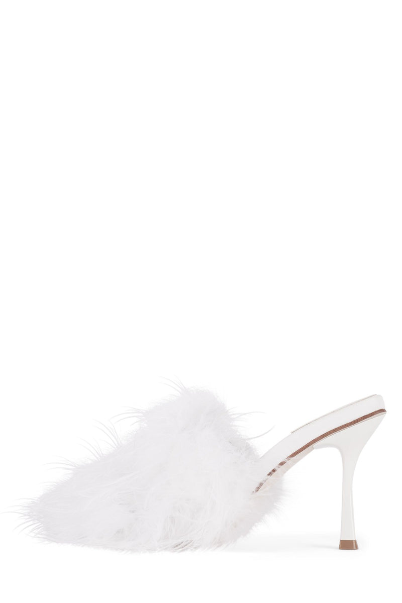 CHAUFFEUR Heeled Sandal YYH White Combo 5