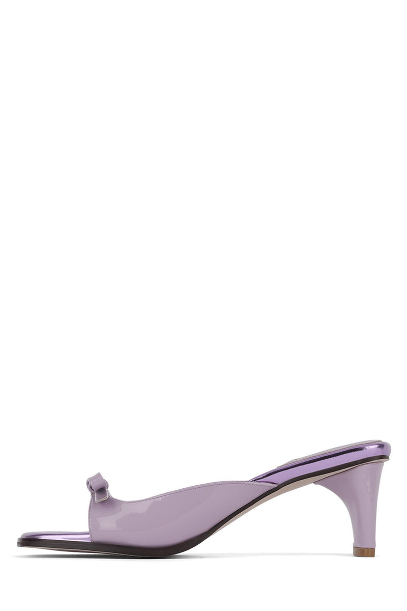 COPINE Heeled Sandal Jeffrey Campbell Lilac Metallic Multi 6