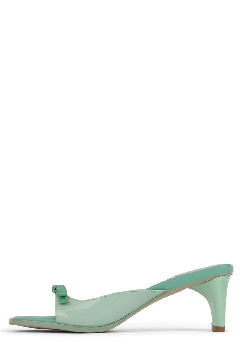 COPINE Heeled Sandal Jeffrey Campbell Mint Multi 6