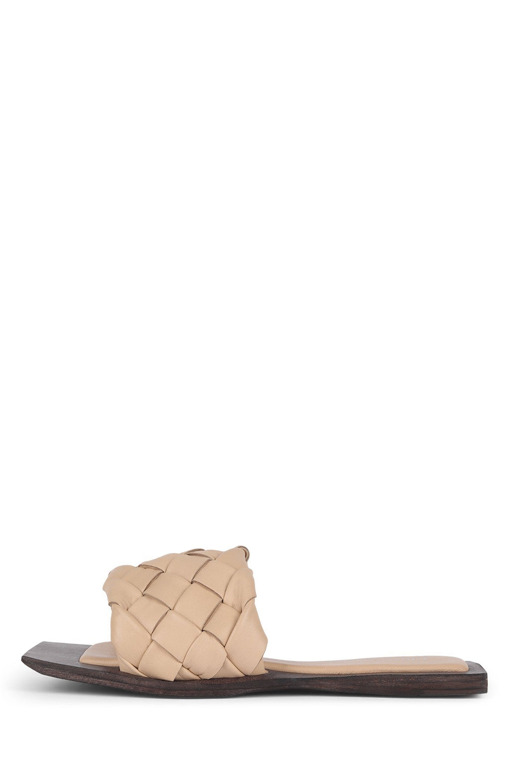 COSTELO-L Flat Sandal Jeffrey Campbell Natural Brown 6