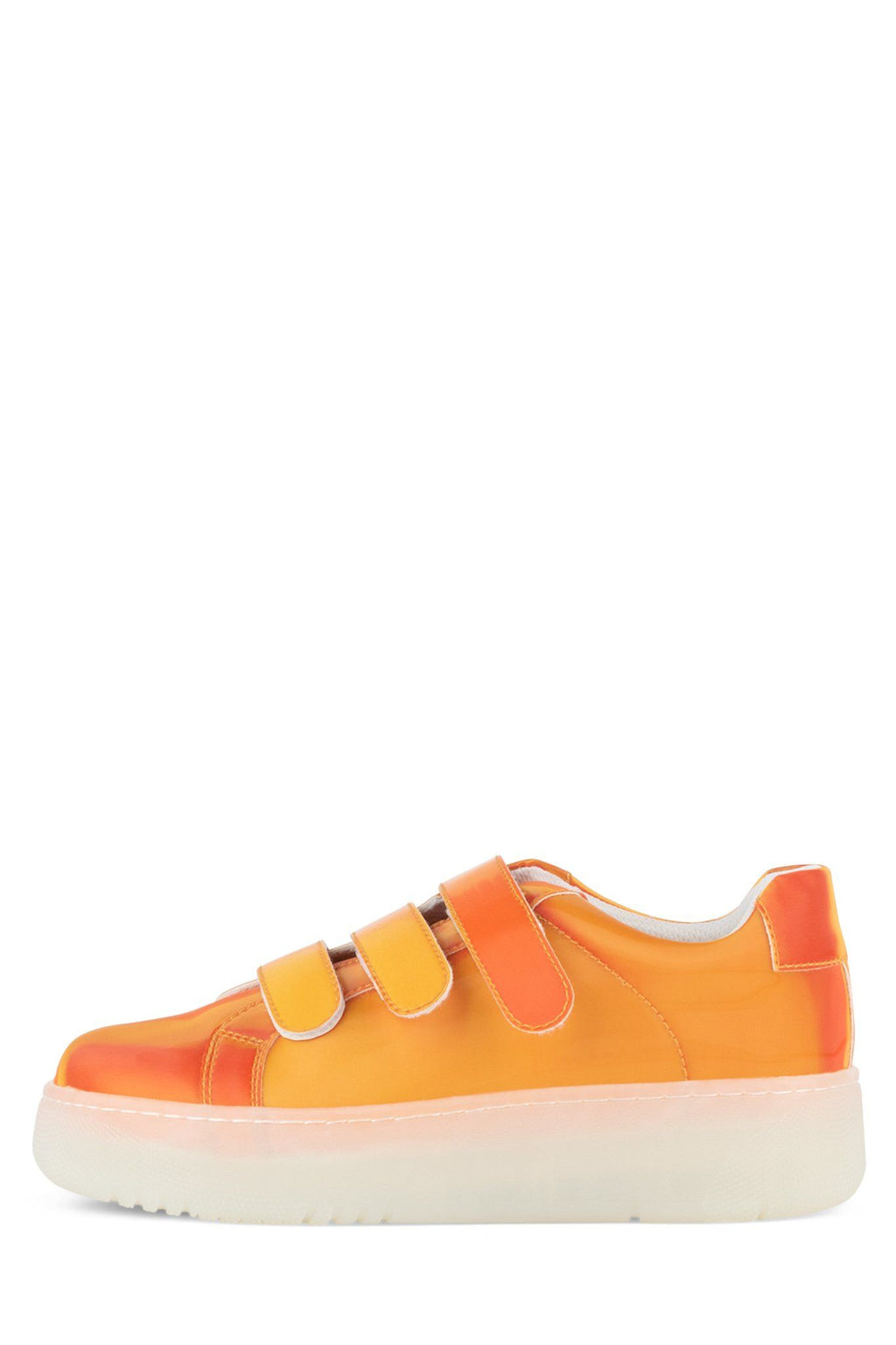 COURT-3S Sneaker Jeffrey Campbell Orange Holographic 6