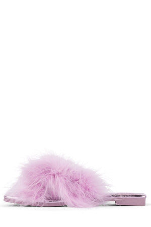CRUSHONU-2 Slippers Jeffrey Campbell Pink Metallic Pink 5