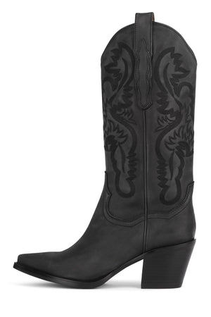 DAGGET Mid-Calf Boot ST Black Washed 6