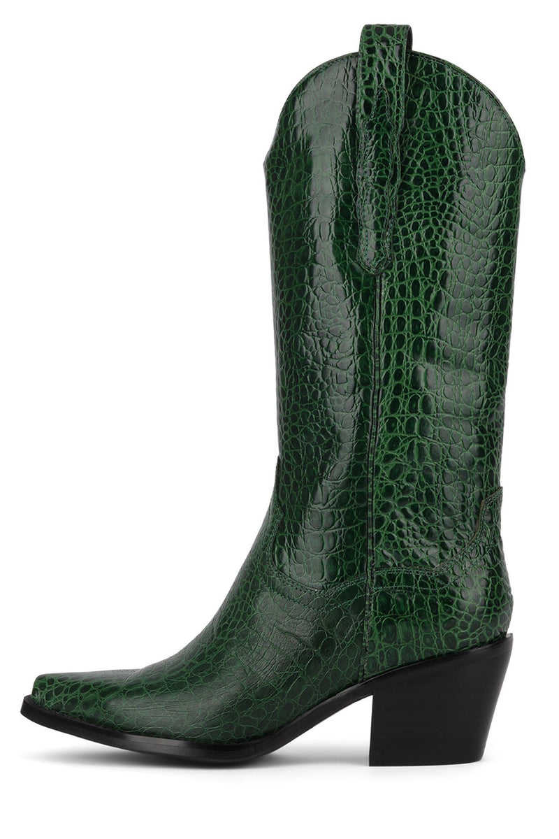 DAGGET Mid-Calf Boot STRATEGY Green Gator 6
