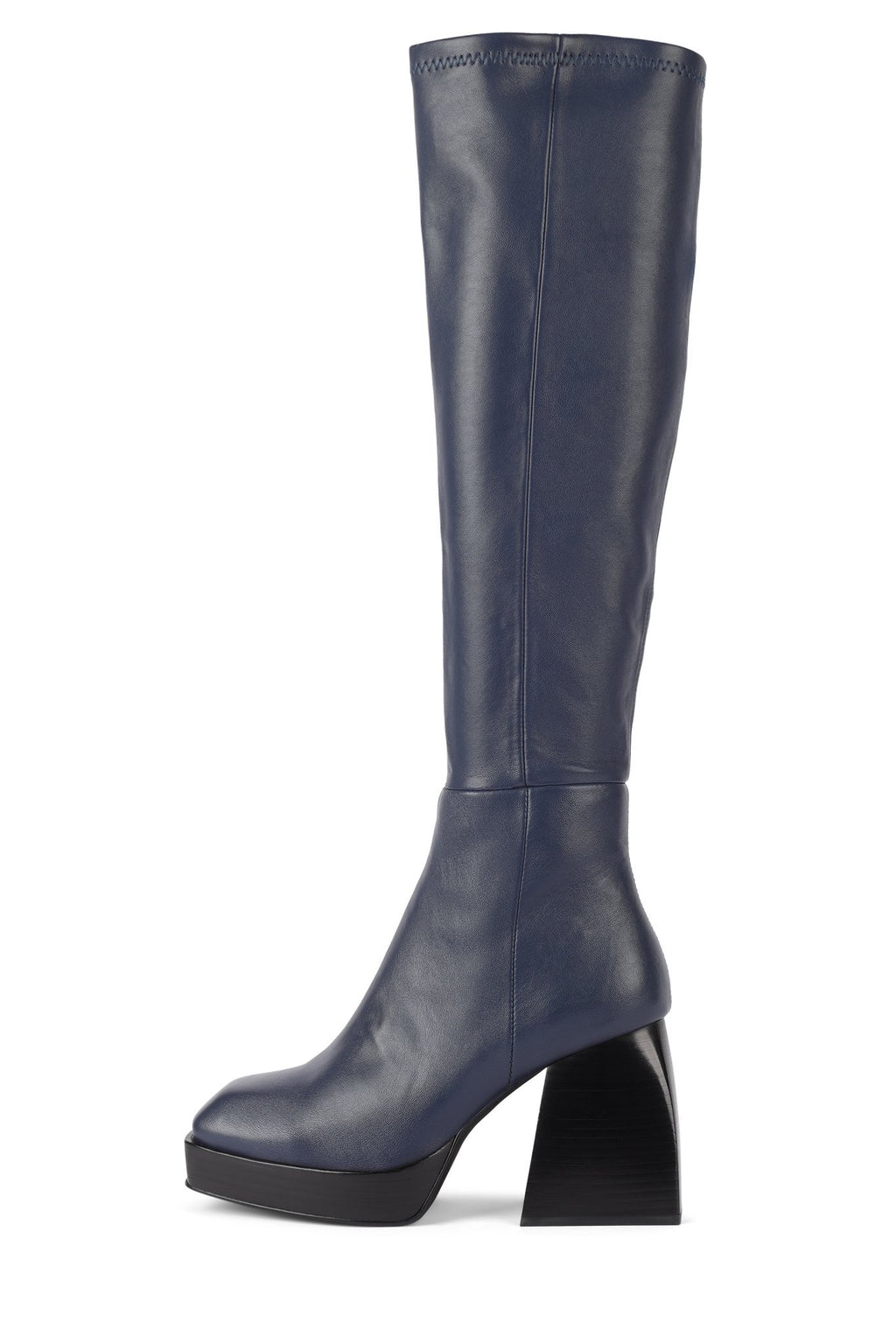 DAUPHIN Knee-High Boot STRATEGY Navy 6
