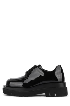 DELANTE Oxford Jeffrey Campbell Black Patent 6