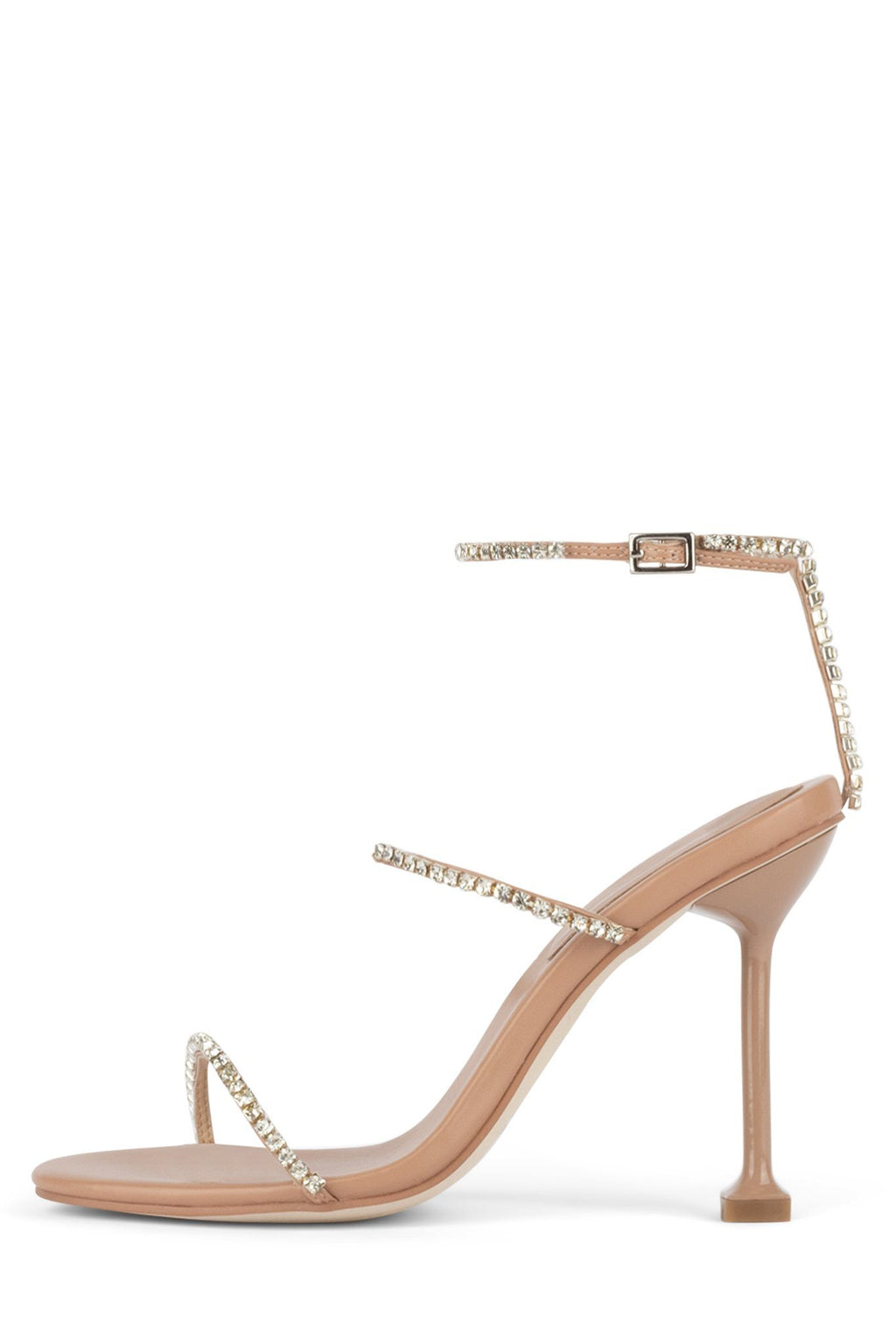 DEMONIC Heeled Sandal YYH Nude Clear 6