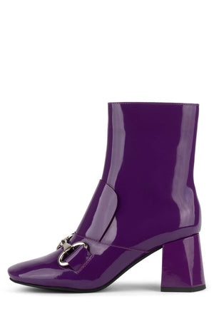 DENEUVE-2L Heeled Boot YYH Purple Patent 6