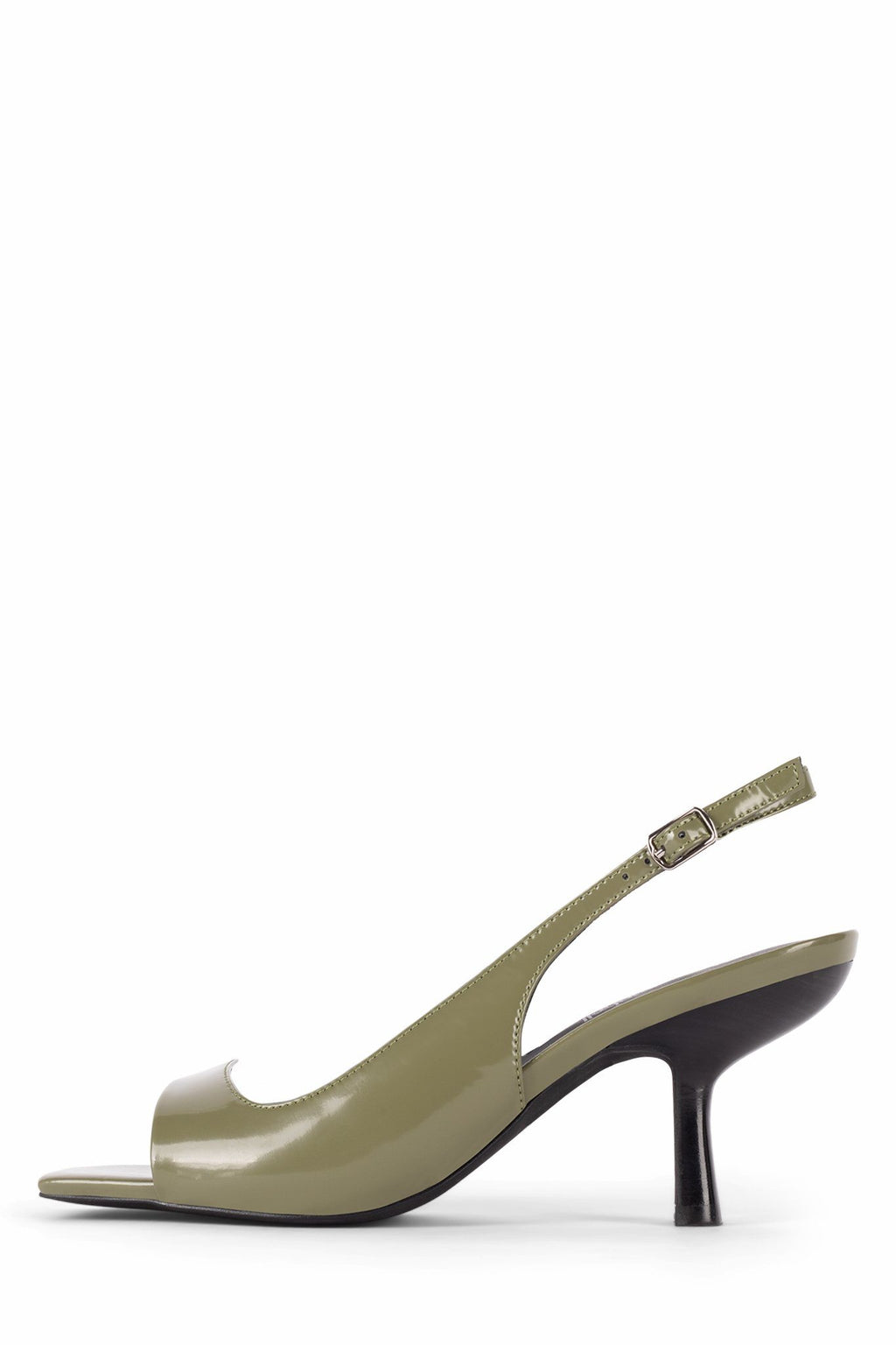 DESSERT Heeled Sandal STRATEGY Olive Box 6
