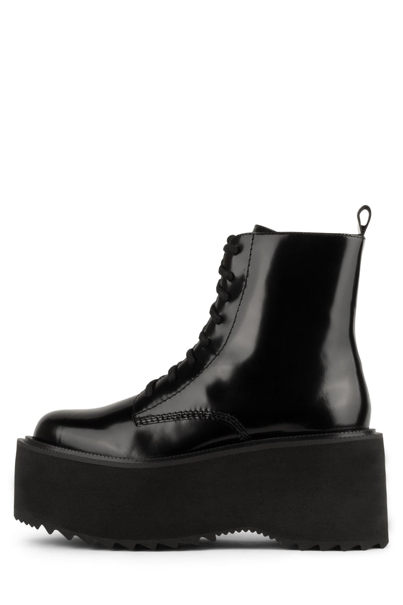 DISTORT Platform Boot HS Black Box 6
