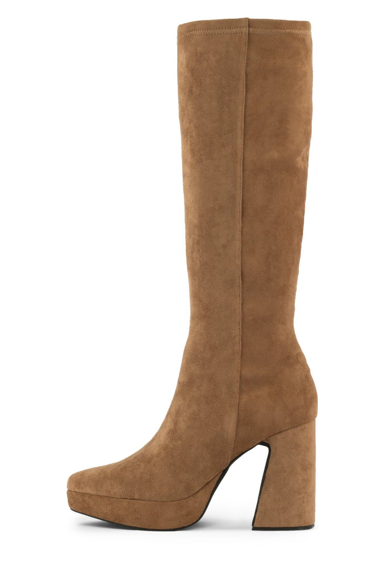 DORMANT-KH Platform Boot HS Blush Suede 6