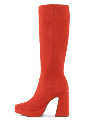 DORMANT-KH Platform Boot HS Orange Suede 6