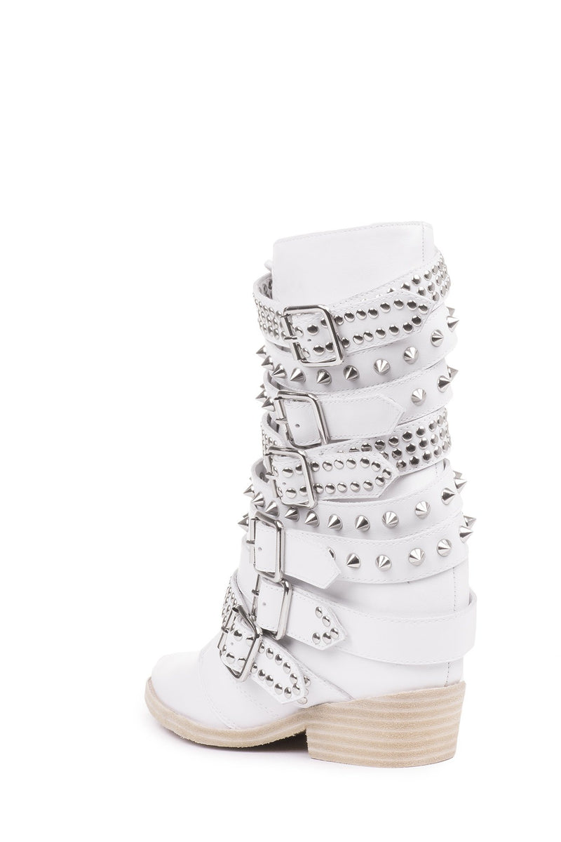 DRACO-STUD Mid-Calf Boot RB
