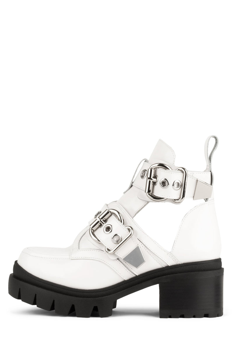 DRIFTER Bootie HS White Box Silver 5