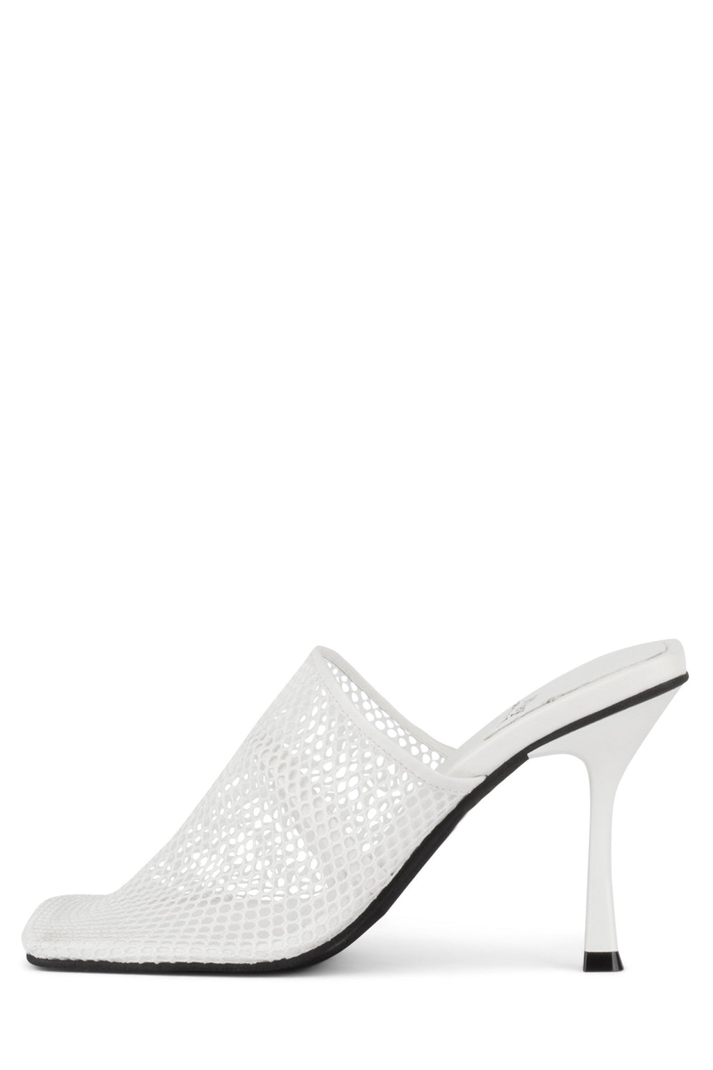 DYER Heeled Mule YYH White Mesh 6