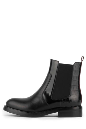 EDMOND Boot Jeffrey Campbell Black Lizard Multi 6