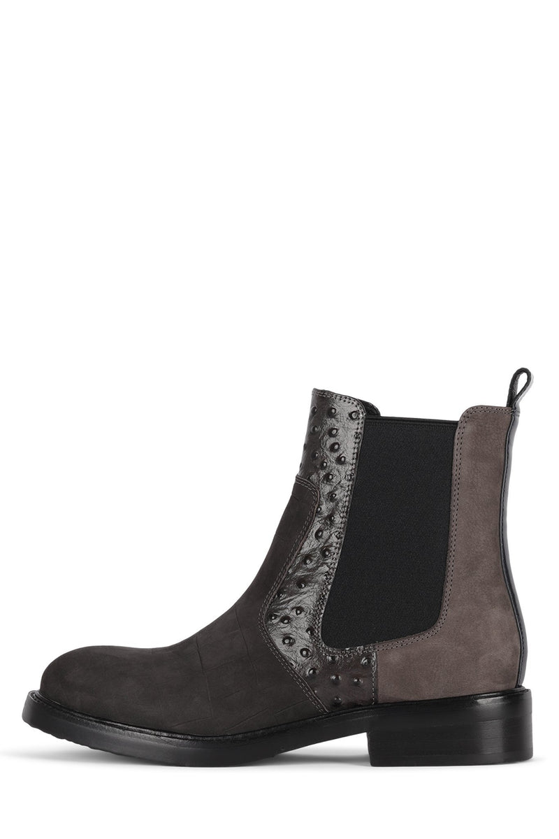EDMOND Boot Jeffrey Campbell Grey Exotic Multi 6