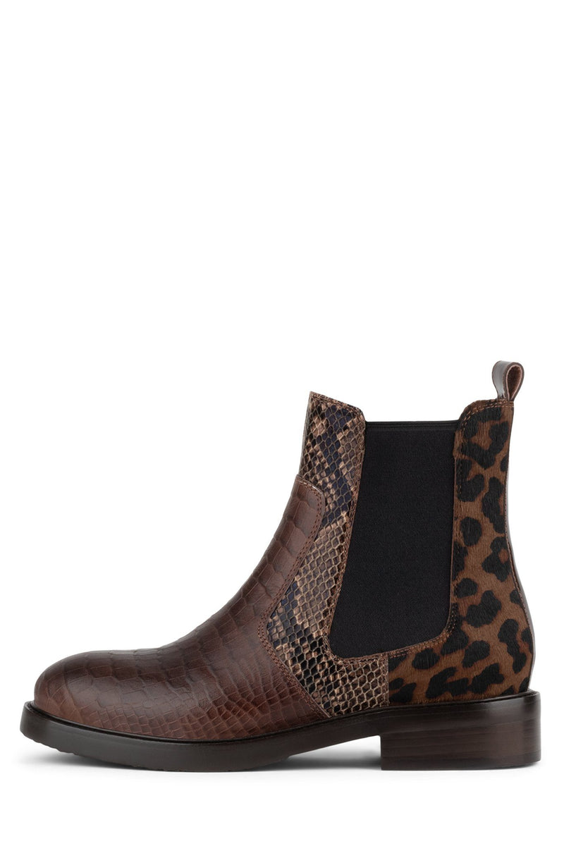 EDMOND-F Boot YYH Brown Exotic Multi 6