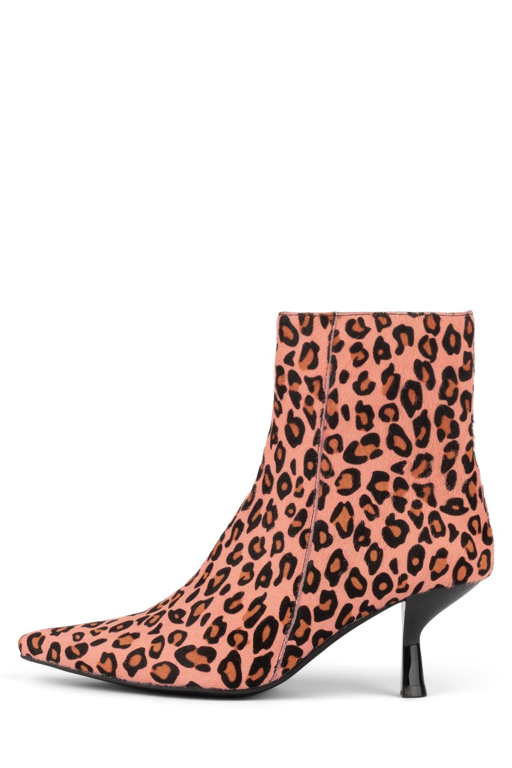 EGNYTE-F Heeled Bootie YYH Pink Black Cheetah 6