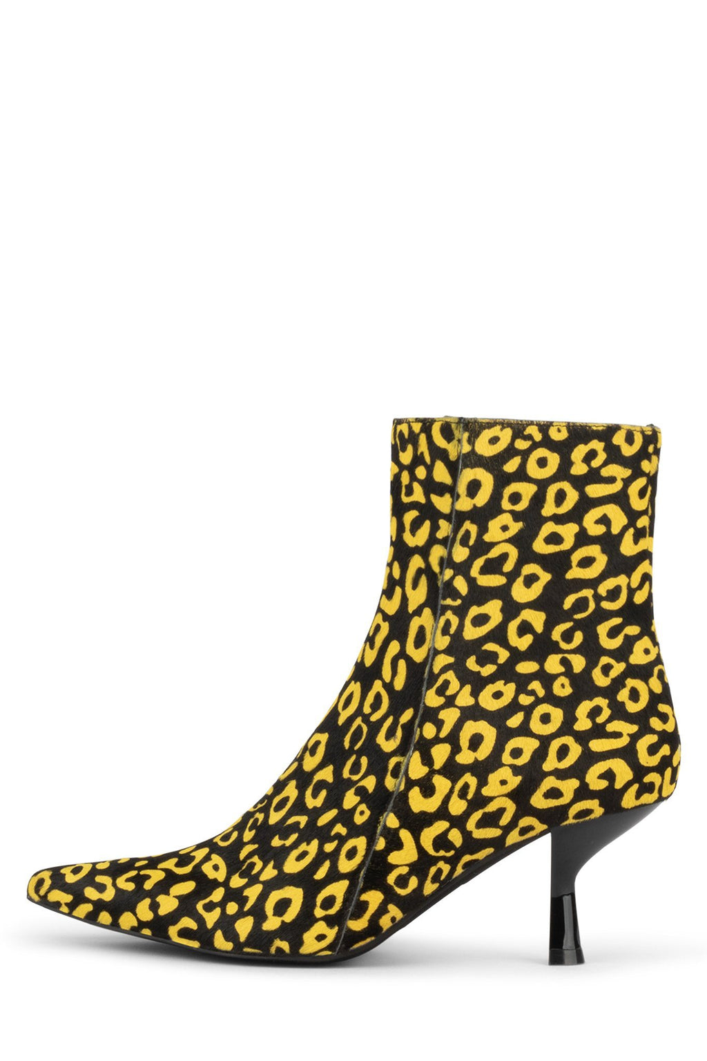 EGNYTE-F Heeled Bootie YYH Yellow Black Cheetah 6