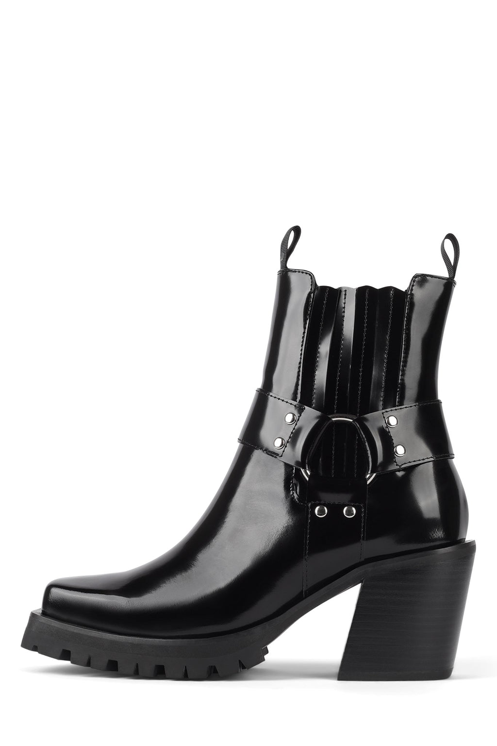 ELKINS-BK Heeled Boot Jeffrey Campbell Black Box 6