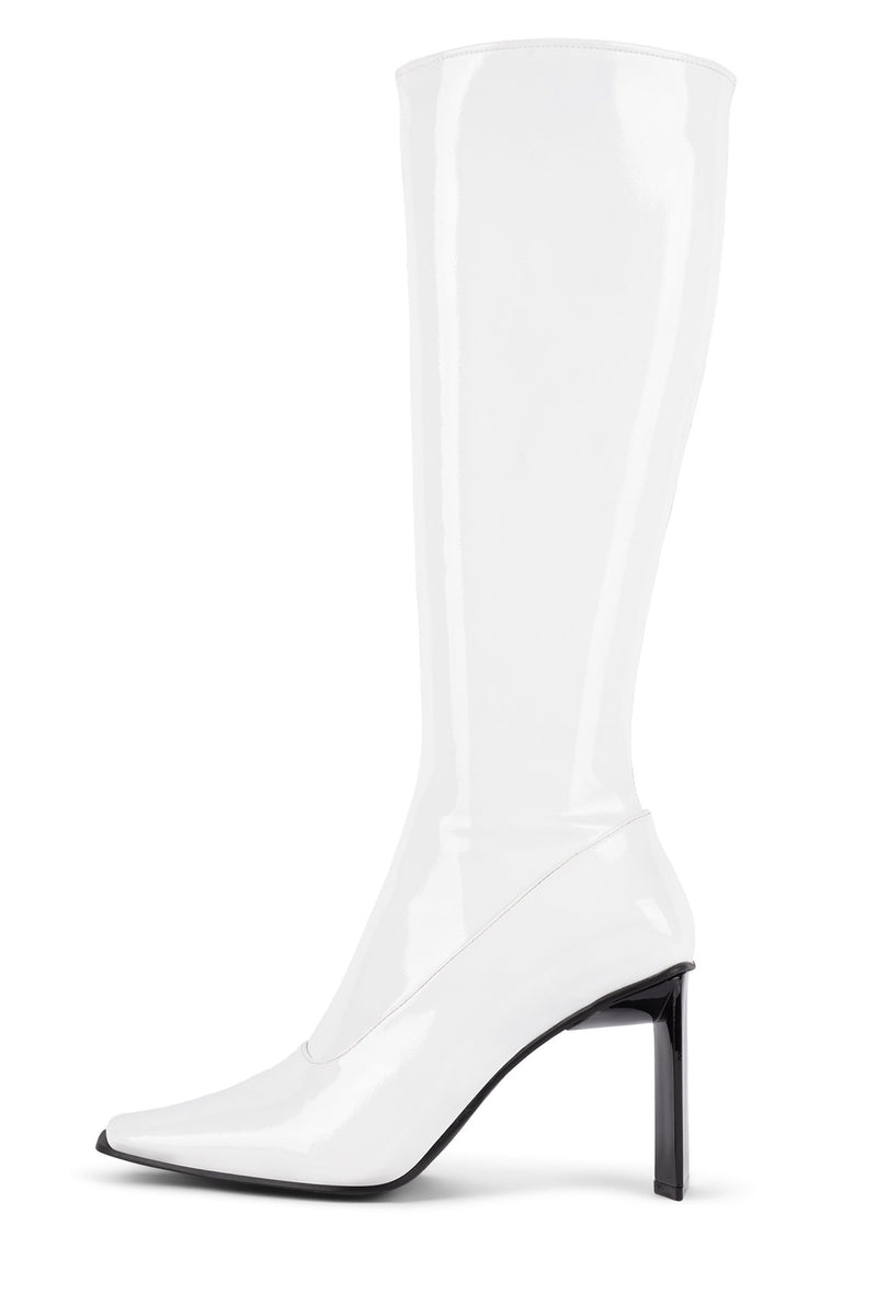 ELODIE Knee-High Boot YYH Ice Crinkle Patent 6