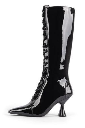 ELVITA Knee-High Boot ST Black Patent 6
