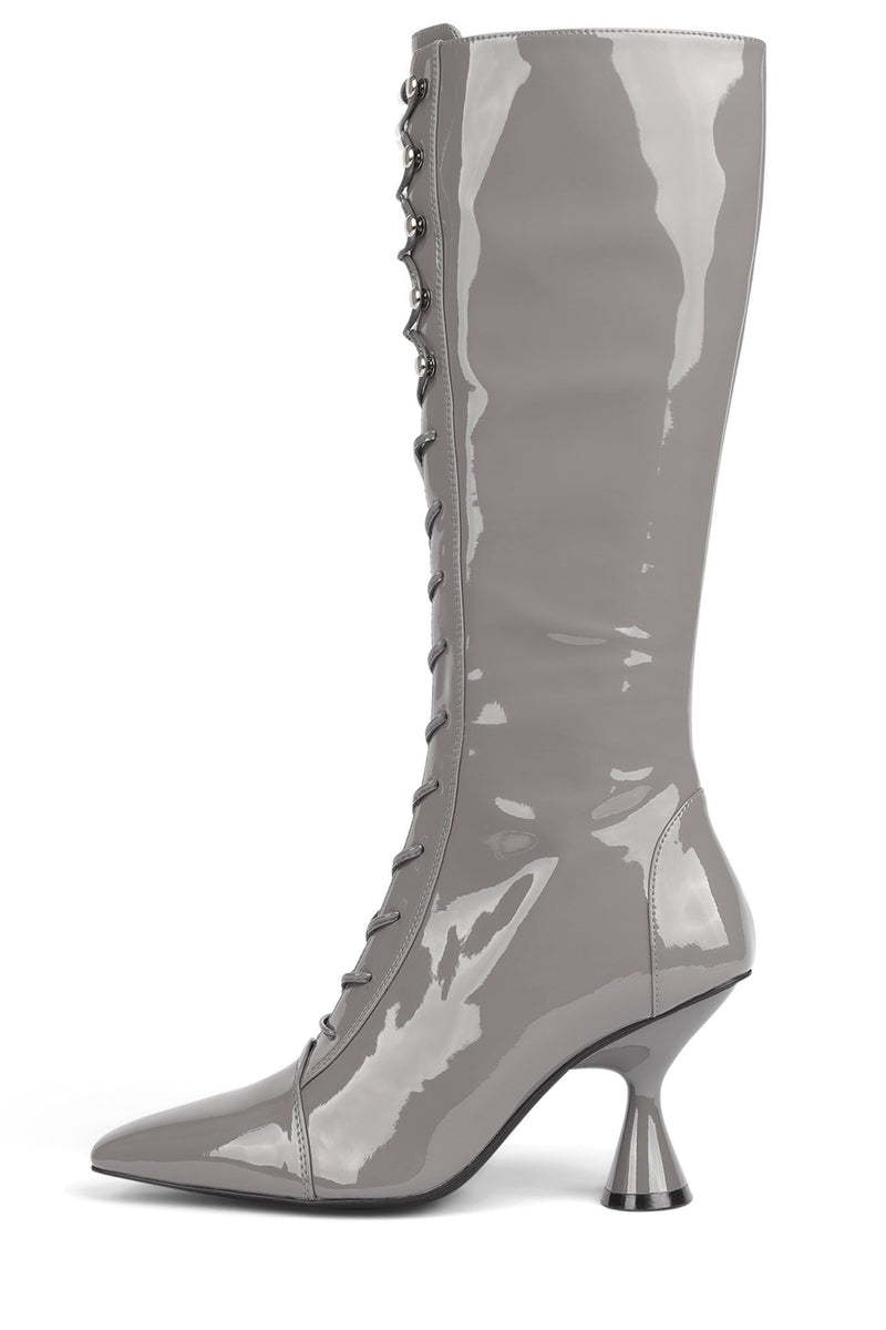 ELVITA ST Grey Patent 6