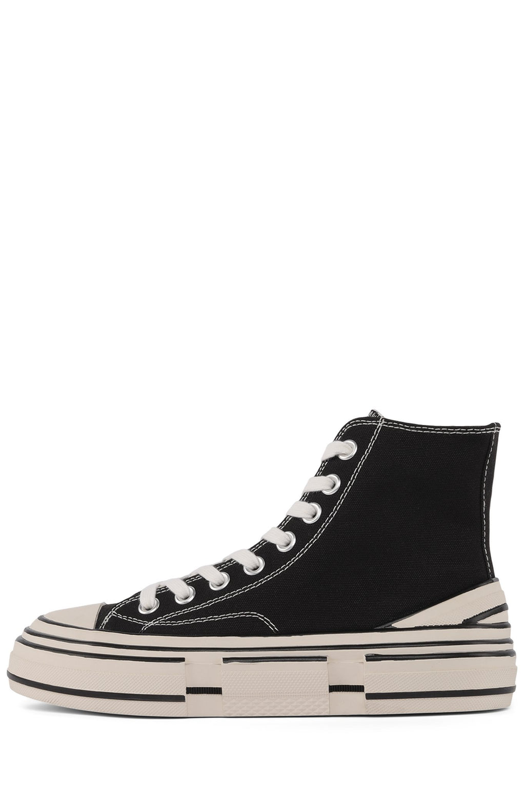 ENDORPHN-H Sneaker Jeffrey Campbell Black Canvas 6