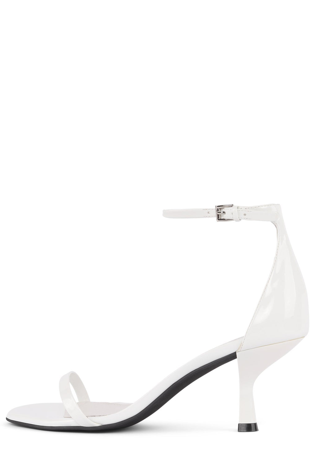 ENTICE Heeled Sandal Jeffrey Campbell White Patent 9