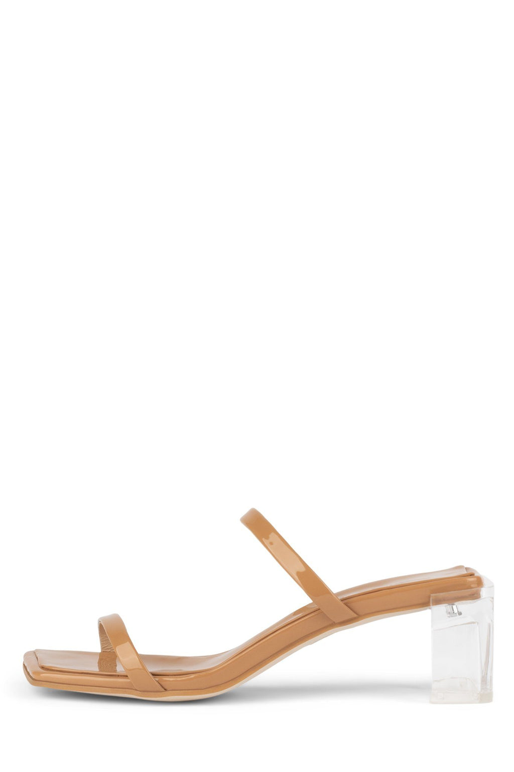 EPOXY Heeled Sandal YYH Nude Patent Clear 6