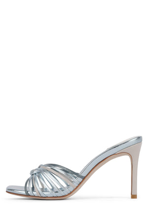 FARIS Heeled Sandal STRATEGY Blue Metallic Multi 6