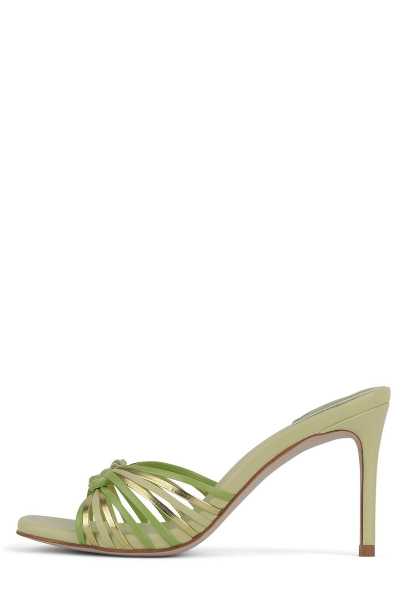 FARIS Heeled Sandal STRATEGY Mint Metallic Multi 6