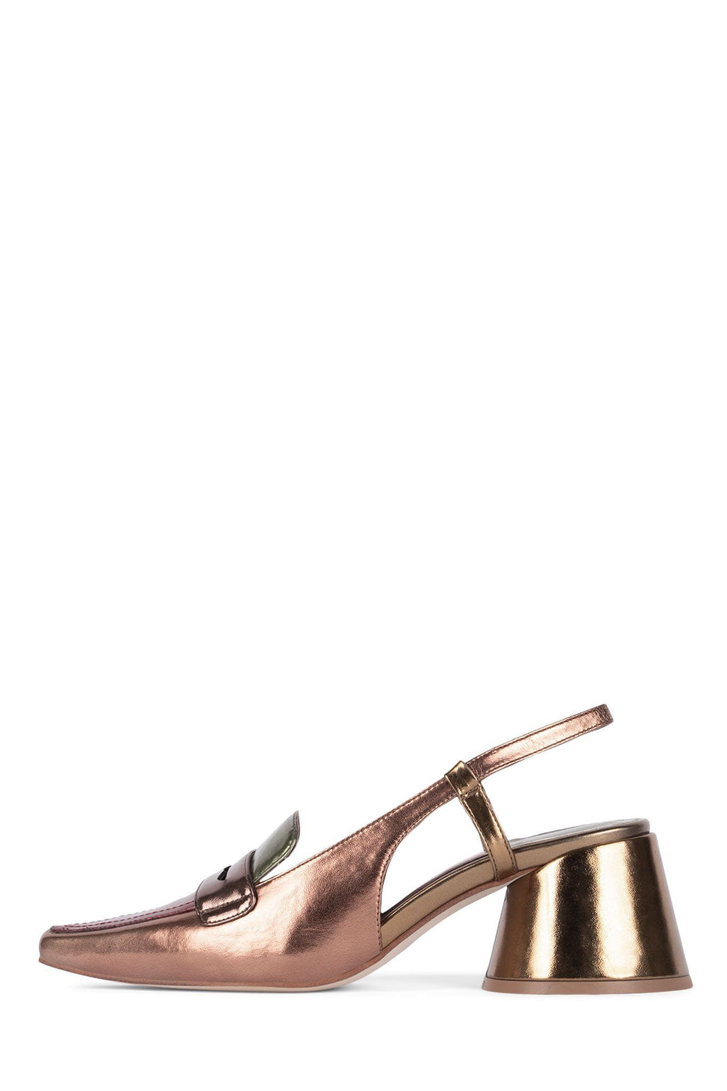 FERWAY Pump Jeffrey Campbell Bronze Metallic Multi 6