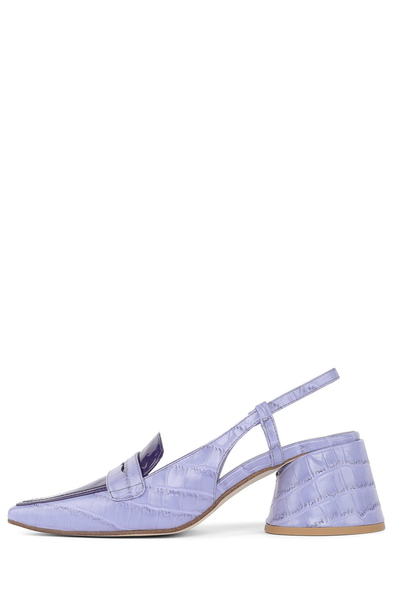 FERWAY Pump Jeffrey Campbell Lilac Exotic Combo 6